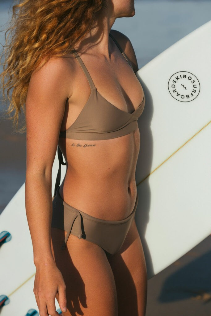 Surf bikinis that fit and stay put